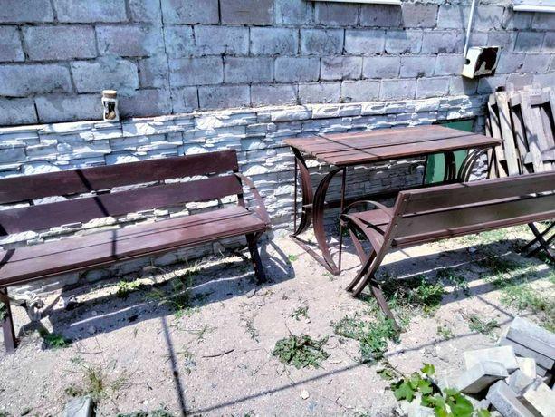 Продам Стол и Две лавки для дома и сада