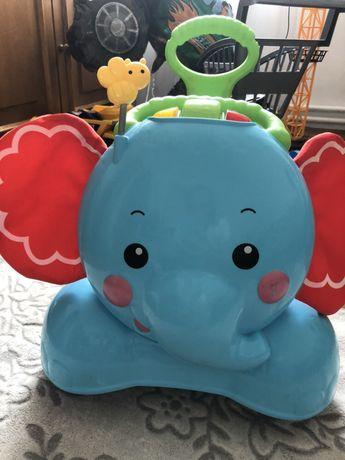 Толокар слоник Fisher-Price