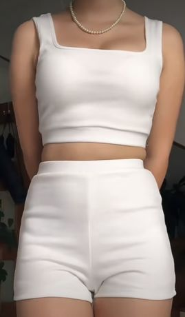 Komplet biały XS