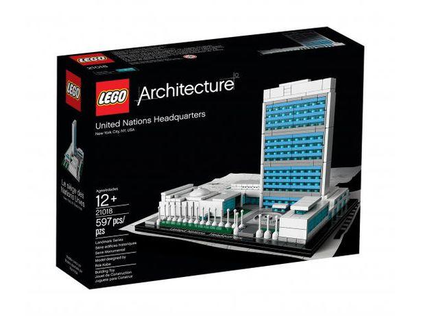 LEGO ARCHITECTURE 21018 Kwatera główna ONZ Nowe