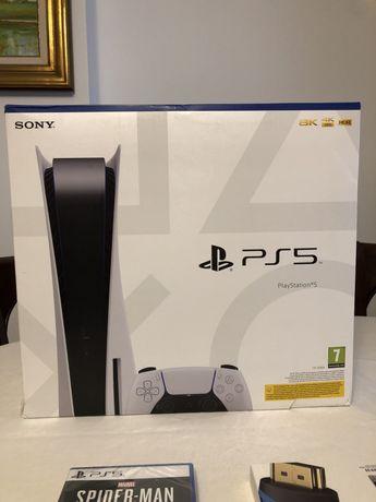 Playstation 5 - Edição Standard - NOVA/SELADA - Com garantia
