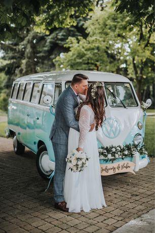 Auto do ślubu, stary samochód, retro, ogórek, bulik, boho,