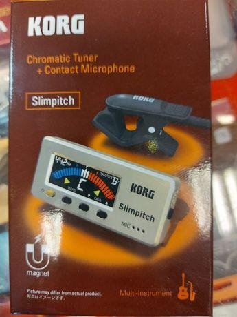 KORG SLIMPITCH PG tuner chromatyczny orkiestrowy