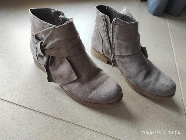 Buty botki jesienne damskie 37