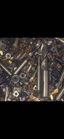 Sucata metal duro tungstenio