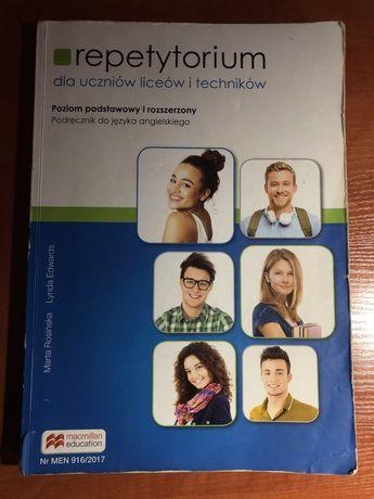 Podręcznik, repetytorium j.angielski liceum, technikum