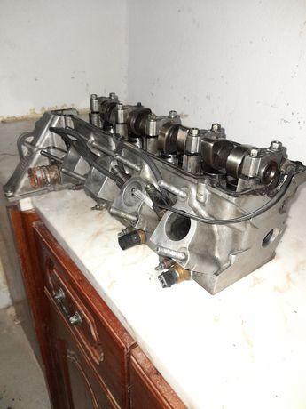 Cabeça de motor e injetores bmw 318 tds e36