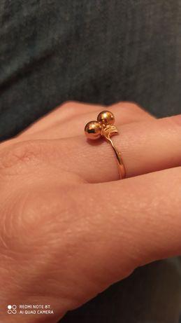 Pierścionek Pierścień 19 Złoty 583 ( 585) rosyjski metka zaręczynowy