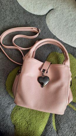 Nowa torebka Jenny Fairy kolor pudrowy róż