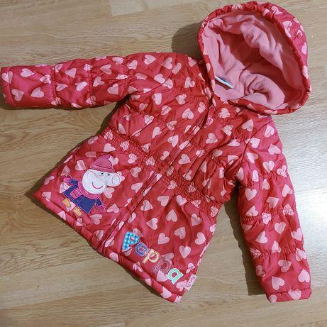 Куртка peppa pig