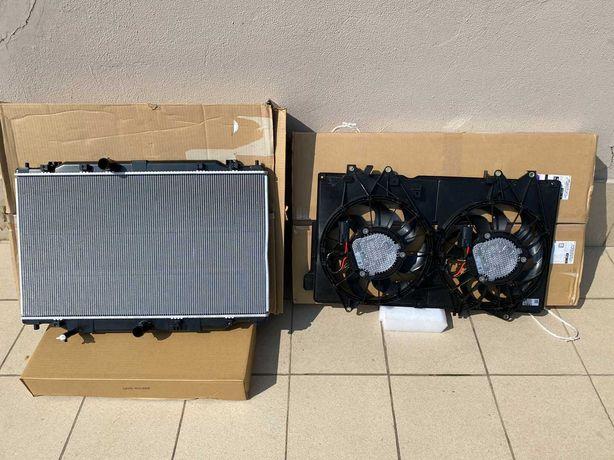 Диффузор, радиатор MAZDA CX5 2020. 2021  2.5 TURBO