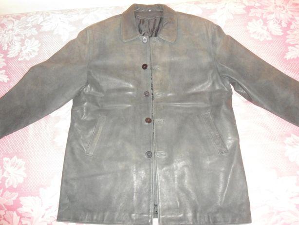 Кожаннаяы куртка мужская