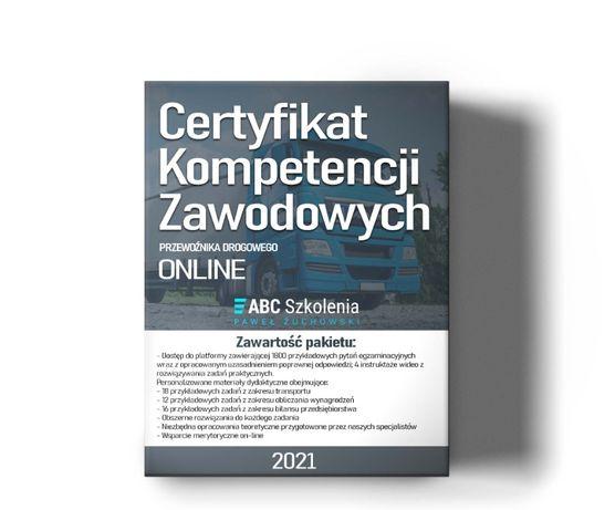 Certyfikat Kompetencji Zawodowych Przewoźnika - Kurs Online