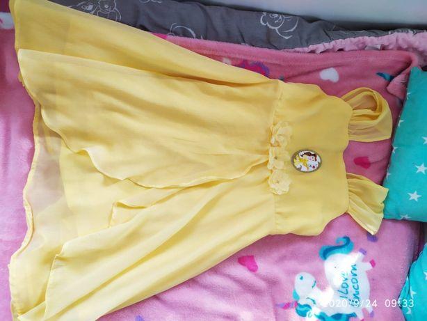 Sukienka Piękna i Bestia Disney C&A