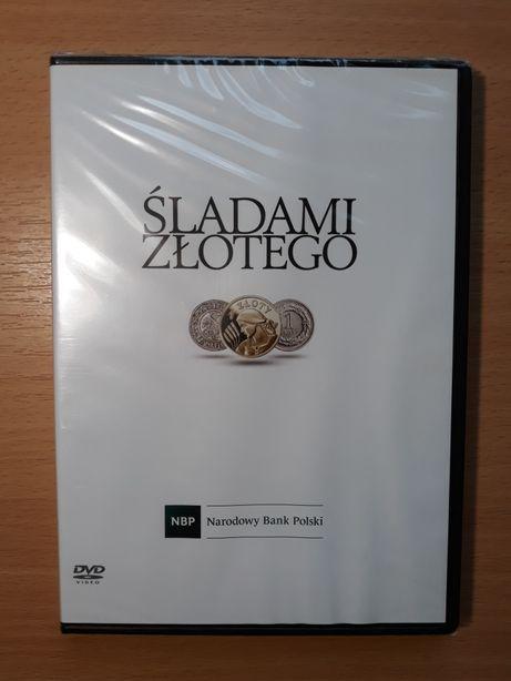 Film DVD Śladami złotego NBP nowy