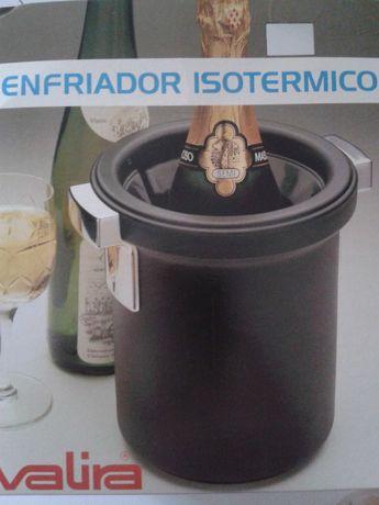 FRAPÉ, resfriador isotérmico p/ garrafa, balde p/gelo