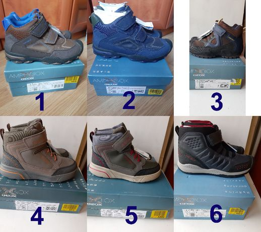 Утепленные ботинки Geox Buller sveggen savage teram 31,33,36,37,38