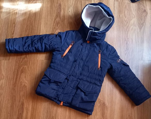 Зимняя тёплая курточка на мальчика 6-8 лет