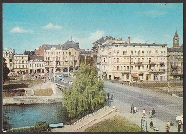 pocztówka - Bydgoszcz 1970 - plac Zjednoczenia