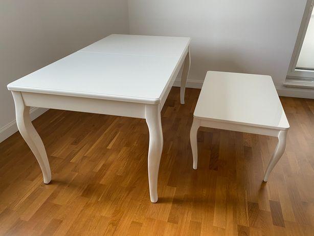 Stół i stolik kawowy firmy Novelle