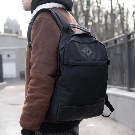 Мужской рюкзак Structure черный городской чорний міський рюкзак