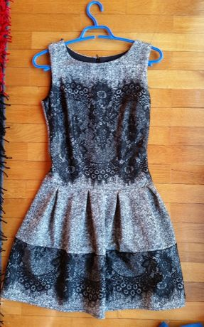 Vestido cinzento M
