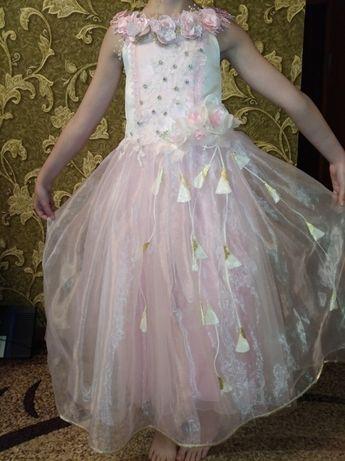 праздничное пышное платье на выпускной новый год и все праздники