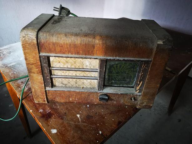 Stare radio lampowe pionier