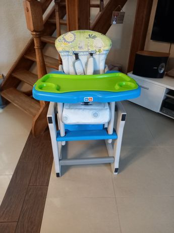 Krzesełko do karmienia i stolik w jednym dla dziecka