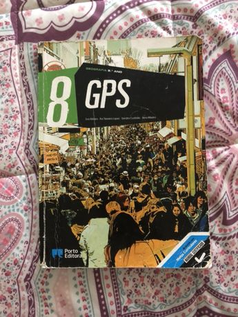 GPS 8.º ano livro de geografia