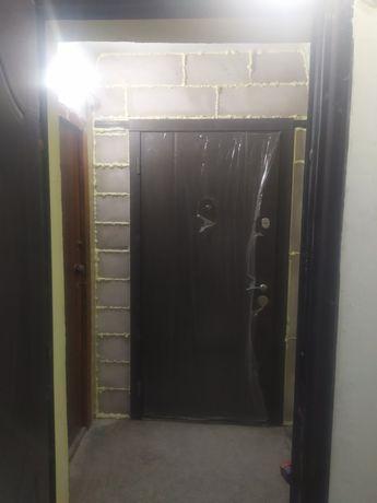 Демонтаж стен ,проемов,перестенков. А также установим входные двери!