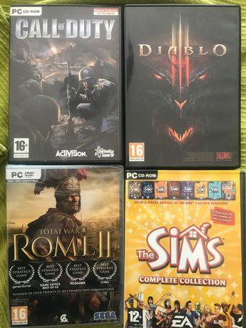 Jogos PC: Vendo colecção com mais de 100 jogos (impecáveis)