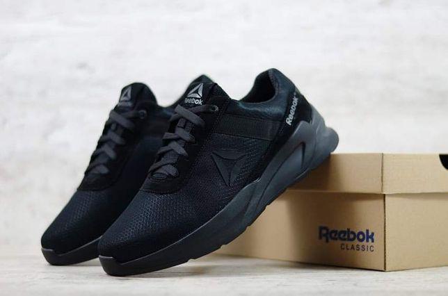 REEBOK NEW MAN мужские кроссовки сетка чоловічі кросівки сітка чорні