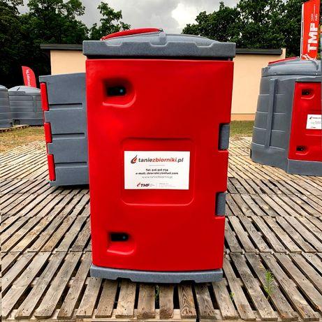 Zbiornik ON/DIESEL - JFC 1300 litrów na paliwo z wyposażeniem 2płaszcz