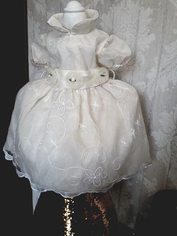 Sukienka do chrztu, ślub, okolicznościowa r.86