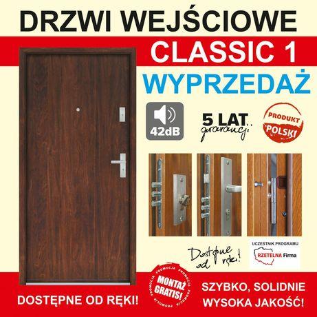 Drzwi do mieszkań wzmocnione wyciszone od 980zl z montażem.