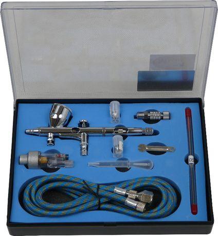 AEROGRAF TG-180K Z DYSZĄ 0,2; 0,3 ORAZ 0,5 + filtr z odwadniaczem
