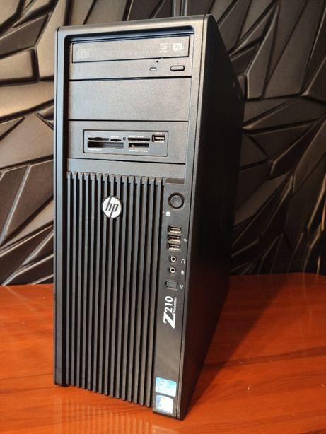 Komputer stacjonarny PC HP Z210 I7 8GB 1TB grafika NVIDIA Win10pro FV