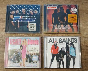 Płyty CD z zagraniczną muzyką rozrywkową - do wyboru