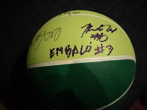 Bola de Basquetebol do Sporting 2019/2020 Autografada