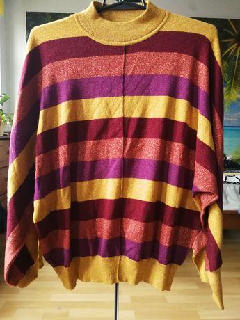 M&S Collection cienki sweter damski nietoperz L 40