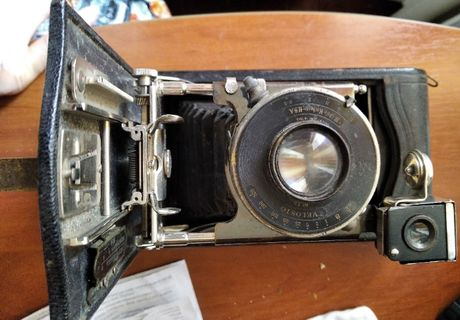 фотоаппарат 3-a special Kodak 1918 г.