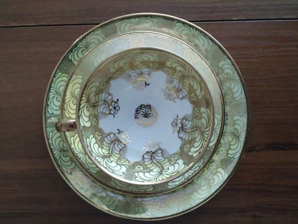 Porcelana trio zestaw filiżanka Bawaria decor 46