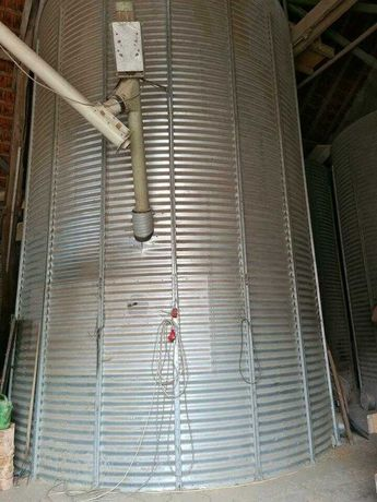 Silos zbozowy pod dach 80 ton