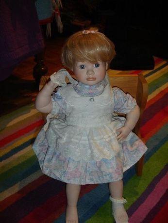 bonecas de porcelana anos 80