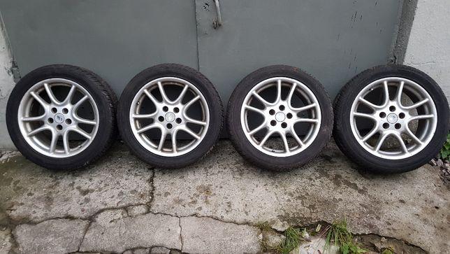 "Felgi Irmscher Twinspoke 17"" 5x110 Opel Omega + opony Paxaro 235/45"