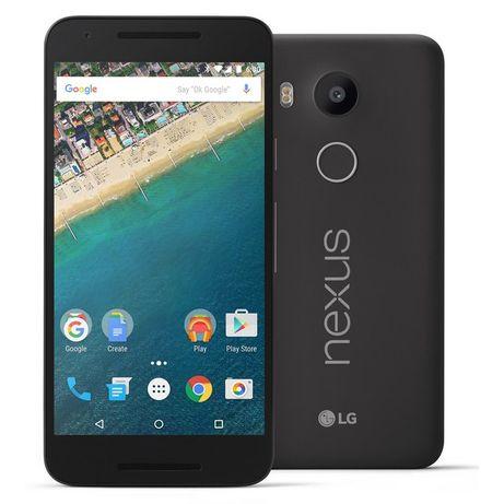 "LG Nexus 5x H791 Black 2/32ГБ 5,2"" 12мп 2700 мАч 6 ядер REF"