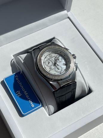 Часы с бриллиантами Technomarine Rolex Omega Cartier Tissot Оригинал