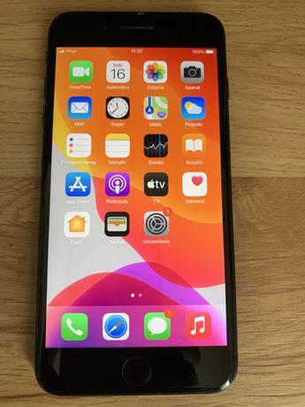 """Iphone 7 plus 5,5"""" ,32GB czarny ,100% sprawny ,bateria 86%,jak nowy,"""