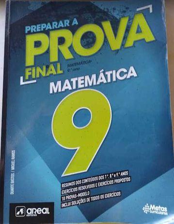 Preparar a Prova Final 2021 - Matemática - 9.º Ano